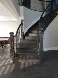Custom Staircase By Stonecrest Railings U0026 Stairs And Ron Wilson Stairs
