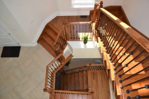 Custom Staircase by Stonecrest Railings & Stairs and Ron Wilson Stairs