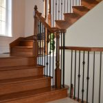Custom  staircases: staircases and railing in wood