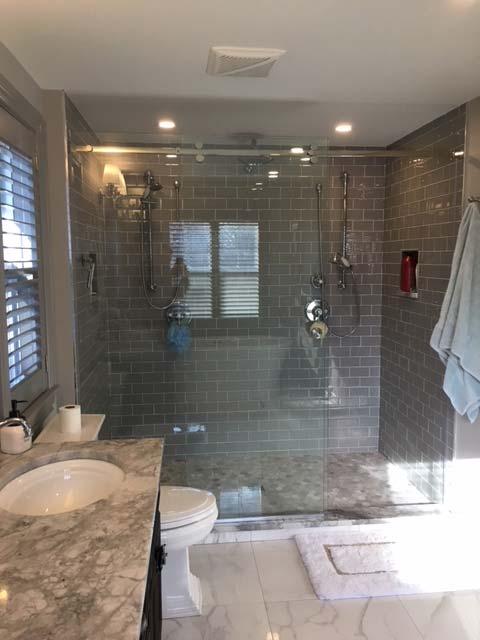 Master bath after renovation 1